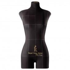 Манекен портновский Моника, комплект Стандарт, размер 40, Черная