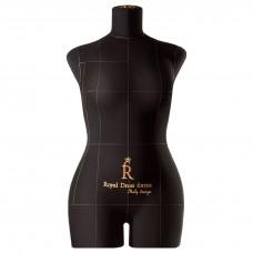 Манекен портновский Моника, комплект Стандарт, размер 46, Черная