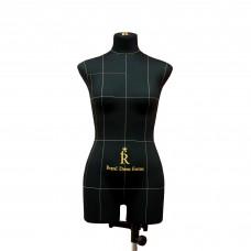 Манекен портновский Моника, комплект Про, размер 44, тип фигуры Прямоугольник, черный