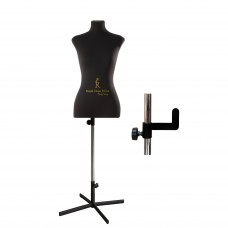 Манекен портновский Кристина, комплект Премиум, размер  40 Черный
