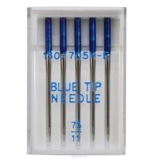 Иглы Organ голубые (blue type) №75 5 шт. для тонких тканей