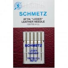 Иглы Schmetz для кожи (leather) №80 5 шт.