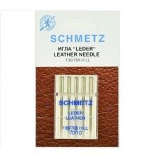 Иглы Schmetz для кожи (leather) №70 5 шт.