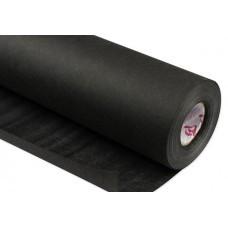 Флизелин клеевой черный, отрывной (30 cm x 10 m), 70 г/м2