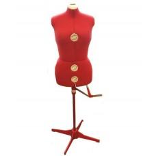 Манекен SIERA (50-58) женский (красный) Mod.151