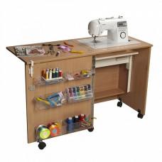 Стол швейный Комфорт 1  (цвет дуб Паллада)