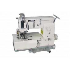 12-и игольная швейная машина цепного стежка с задним пуллером для настрачивания лампас JATI JT-1412PL (голова)
