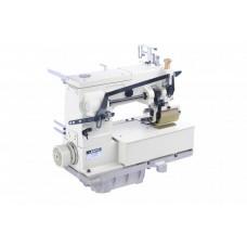 12-и игольная швейная машина с задним пуллером JATI JT-1412P голова