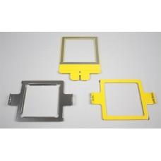17128 Рамка малая для вышивки на сложных материалах, 11.4 x 11.4 см.
