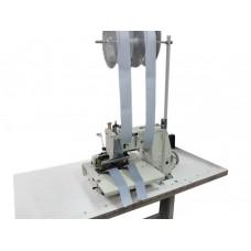 4-х игольная машина цепного стежка, с устройством подачи ленты и пуллером JATI JT-1404D-150