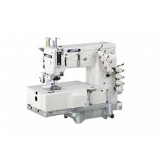 4-х игольная швейная машина для настрачивания резинки с задним пуллером JATI JT- 1404P (голова)