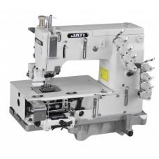 4-х игольная швейная машина для обработки поясов, задний пуллер и передние ролики JATI JT- 1404PMD (голова)