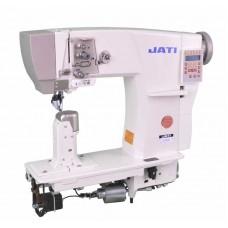 Двухигольная колонковая швейная машина с 3-м продвижением и автоматическими функциями JATI JT-791D-2 (КОМПЛЕКТ)