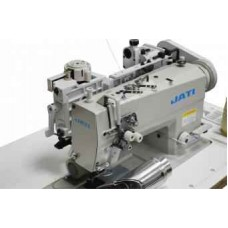 Двухигольная промышленная швейная машина без отключения игл с пуллером для пришивания пояса JATI jt- 6872-005 нрt/38,1 mm ГОЛОВА