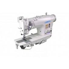 Двухигольная швейная машина с прямым приводом, без отключения игл, автоматика JATI jt- 8720d-405 (6,4mm) КОМПЛЕКТ