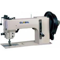 Global WF-9204 Одноигольная промышленная швейная машина с тройным продвижением