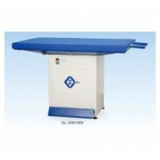 Johnson DL-1200 Прямоугольный утюжильный стол для влажно-тепловой обработки (ВТО) деталей, полуфабрикатов и готовых швейных изделий