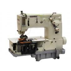 """Kansai Special B-2000C 1/4"""" Промышленная шлёвочная швейная машина (КОМПЛЕКТ)"""