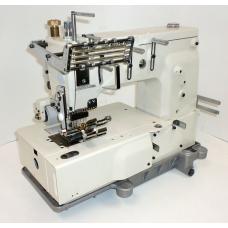 """Kansai Special DFB-1406PL 3/8"""" Промышленная многоигольная швейная машина для настрачивания лампасов"""