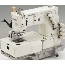 Kansai Special DFB-1408P 1/4 Промышленная многоигольная швейная машина (комплект)
