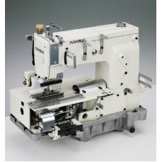 """Kansai Special DFB-1412PQ 3/16"""" Промышленная многоигольная швейная машина"""