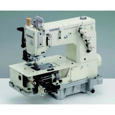 """Kansai Special DVK-1702PMD 3/16"""" Промышленная плоскошовная швейная машина с плоской платформой  голова"""