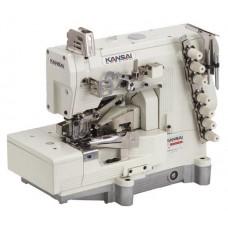 Kansai Special WX-8803-1S 7/32-4 Промышленная плоскошовная швейная машина с плоской платформой голова