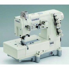 """Kansai Special WX-8803C 1/4"""" Промышленная плоскошовная швейная машина с плоской платформой (голова)"""