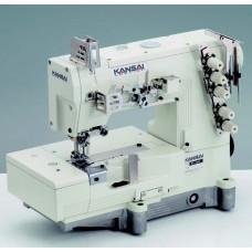 """Kansai Special WX-8803F-UF 1/4"""" Промышленная плоскошовная швейная машина с плоской платформой (голова)"""