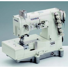 """Kansai Special WX-8803F-UF 7/32"""" Промышленная плоскошовная швейная машина с плоской платформой (голова)"""