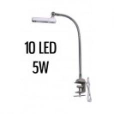 Лампа HM-97 10LED гибкая с вилкой