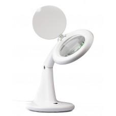 Лупа со светодиодной подсветкой на подставке