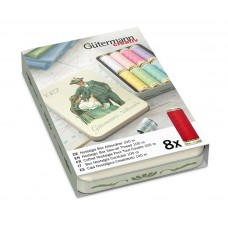 Набор ниток Gutermann Sew All 8 катушек по 100м (пастельные тона)