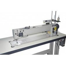 Одноигольная длинорукавная швейная машина с тройным продвижением JATI JT- 767-L30-7 ГОЛОВА