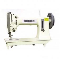 Одноигольная машина челночного стежка для сверхтяжелых материалов NATAKA J-6181 комплект
