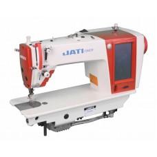 Одноигольная прямострочная швейная машина с автоматикой и цветной сенсорной панелью JATI JT-1969II-M (комплект)