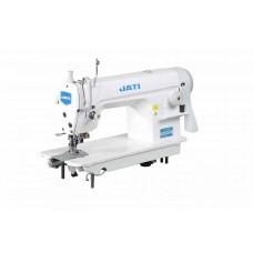 Одноигольная прямострочная швейная машина с подрезкой края JATI JT- 5200 (комплект)