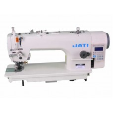 Одноигольная швейная машина с игольным продвижением и подрезкой края, прямой привод JATI JT-7903DF (комплект)