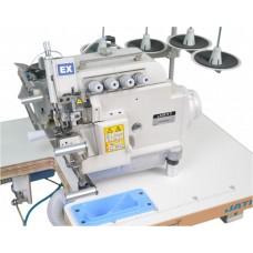 Оверлок четырехниточный с цилиндрической платформой для притачивания резинки JATI jt-5114dks-rc01p (КОМПЛЕКТ)