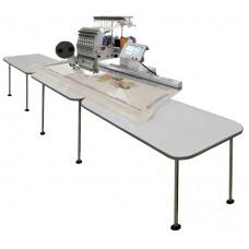 Pantograph EW4814(3T) three tables stand. Увеличенная рама для вышивальных машин VE27C-TS/VE 19C-TS с тремя столешницами 1200 x 350