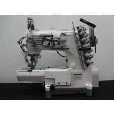 Плоскошовная промышленная швейная машина с цилиндрической платформой Kansai Special NR-9803GA-UTA 1/4 голова