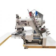 Плоскошовная промышленная швейная машина с цилиндрической платформой NR-9803GP-UTA голова