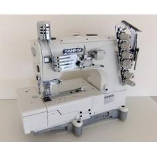 Плоскошовная промышленная швейная машина с плоской платформой Kansai Special NW-8803GMG/DR со встроенным электронным двигателем (голова)