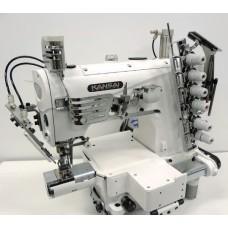 Плоскошовная промышленная швейная машина с узкой цилиндрической платформой Kansai Special NС-1103 GCL-UTA голова