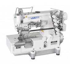 Плоскошовная швейная машина с устройством для пришивания резинки JATI jt-500-05cb  (комплект)
