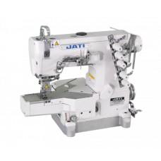 Плоскошовная трехигольная швейная машина с цилиндрической платформой JATI JT-688-01CBX356 (комплект)