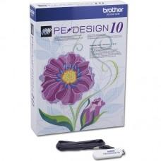 Программное обеспечение для вышивальных машин - Brother PE-Design 10