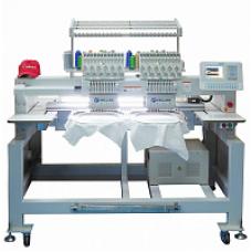 Промышленная 3-х головочная вышивальная машина для рукавной вышивки с облегчённым корпусом VELLES VE 1203L-CAP
