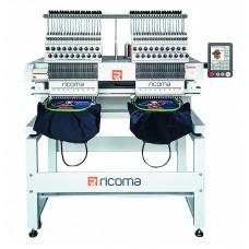 Промышленная двухголовочная вышивальная машина RICOMA MT-2002-8S
