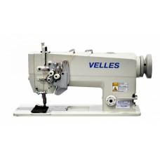 Промышленная двухигольная швейная машина челночного стежка VELLES VLD 2845 КОМПЛЕКТ